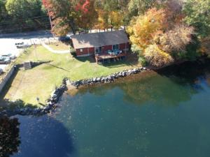 Drone picture club house